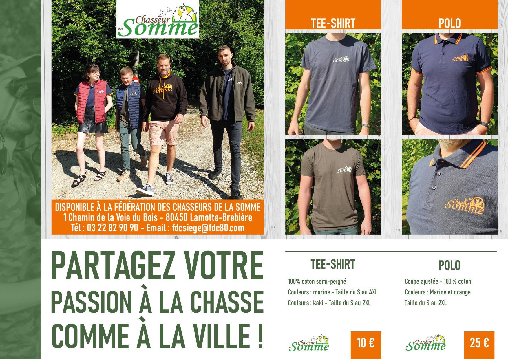 Catalogue vêtements